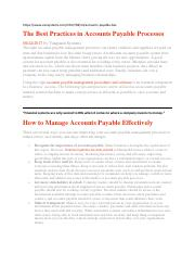 The Best Practices in Accounts Payable Processes.pdf