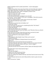 to kill a mockingbird questions chapter 1 3