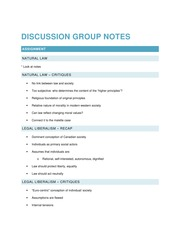 2014 11 12 Discussion Group Notes