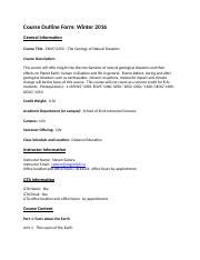 ENVS2250 GEOLOGY OF NATURAL DISASTERS_W.docx