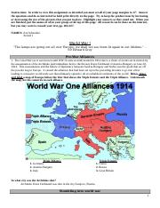 euro unit 6 WW I comp assign 2012