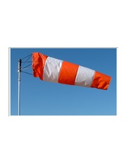 Orange And White WIndsock