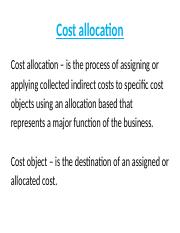 5 cost allocation process(1)