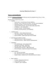 GB 212 Final Exam Study Guide