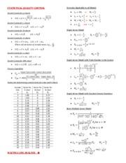 formula sheet final exam f13 pd statistical quality control