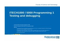 ITECH1000 Testing and debugging.pdf