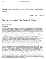 The Franco-Prussian War_ Causes & Effects _ _.pdf