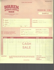 ACCT385 Woolley Invoice C-30