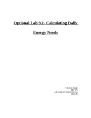 Optional Lab 9.1