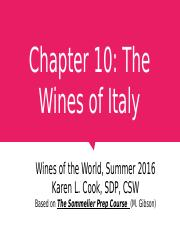 Chapter 10 Italy 062916