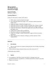 Notes - Demand and Supply.doc