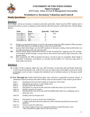 Work Sheet #2_ Inventory Valuation  Control.pdf