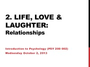 Lecture 11 - Relationships Sep.29.13 (online)