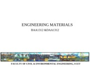 NOTE ENGINEERING MATERIALS