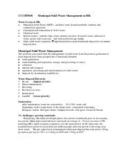 Solid Waste Management_notes