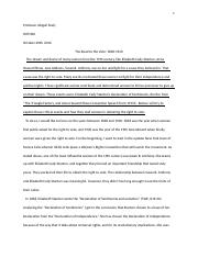 essay 2- The Road to the Vote 1848 -1920.docx