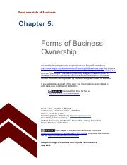 Chapter 5 Forms of Business Ownership.pdf
