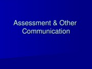 PP5 Assessment and Other Communication.ppt