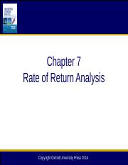 Chapter 07 Rate of Return Analysis_12e.pptx