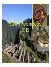 12 Earth's Place in Space 2015