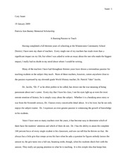 Dr. J appreciation Essay