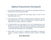 HW 5-Optical Instruments0