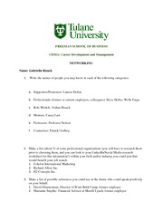 Week 2 Company Research Worksheet Products Services Market