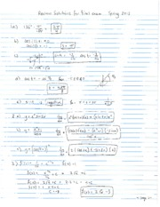 2013 Spring - Math 30 - Final Exam Review solutions - revised