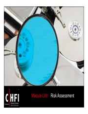 CHFI v4 Module 57  Risk Assessment