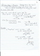 linear wave equations