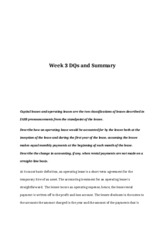 rev Week 3 - Dqs and summary