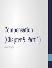 Chapter 9, part 1 - MGMT 470-001.pptx