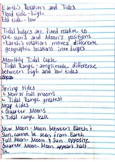 Earth's Rotation and Tides Notes