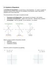 2.1 Solving System of Equations.docx