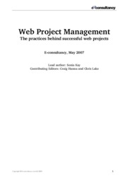 Web-Project-Management-Best-Practice-Guidelines