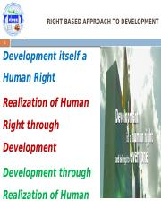 Right based approach to development .pptx