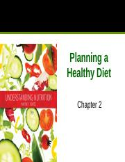 Class 2, Part 1 - NTR306 Chapter 2 Healthy Diet.pptx