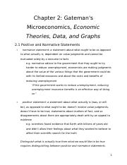 ECON 101 - Chapter 2 - Review Notes.docx