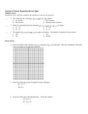 Systems of Linear Equations Review Quiz.pdf