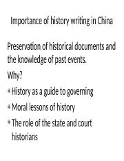 Chinese historical writing.pptx