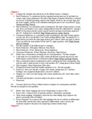 MGT 3200 CH 2 and 3 Study Guide
