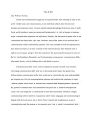 gender roles essay rough draft assignment anchorman women and  6 pages evaluation letter essay