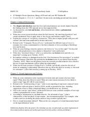 Unit 2 exam study guide F16