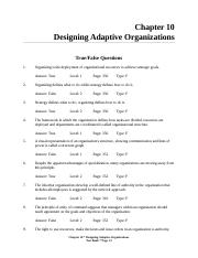 FOM - Chapter 8 - Organization structure & Design.doc