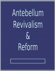 AntebellumReformers.ppt