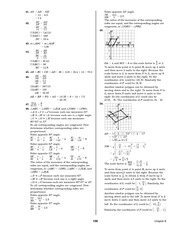 Pre-Calculus Homework Solutions 157