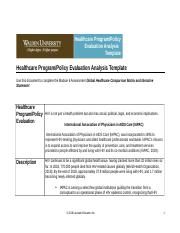 USW1_NURS_6050_Healthcare Program-Policy Evaluation Analysis Template.doc