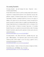 Accounting Standards Opperman Pdf