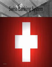 The Banking System of Switzerland