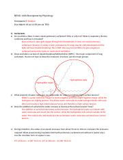 Beng140A_ Homework5_Solution